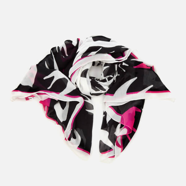 McQ Alexander McQueen Women's Swallow Swarm Scarf - Darkest Black