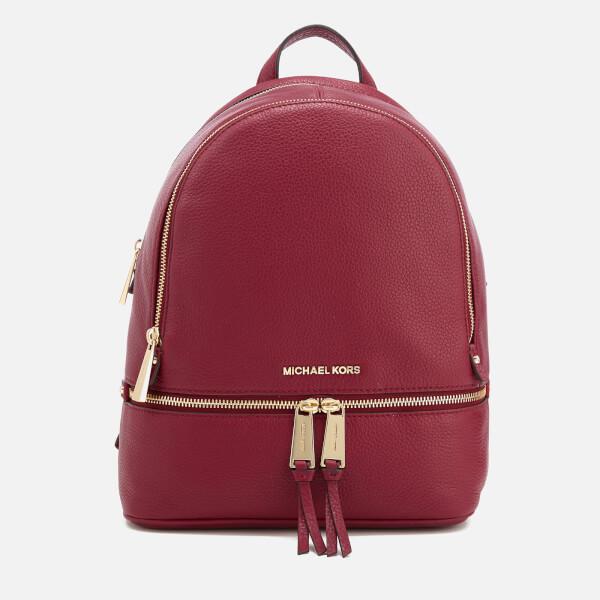 41799abb38be MICHAEL MICHAEL KORS Women's Rhea Zip Medium Backpack - Mulberry: Image 1