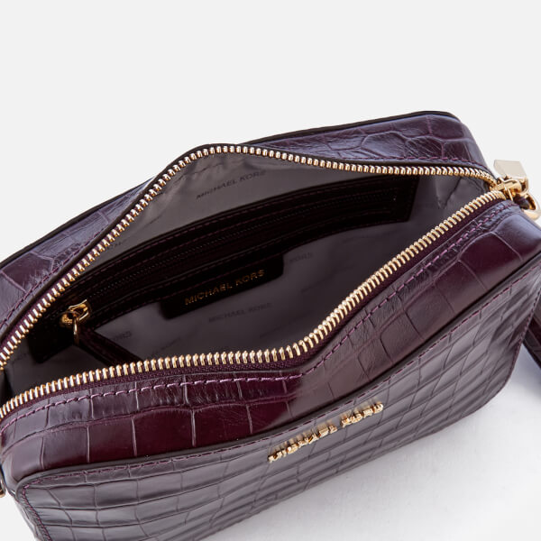 899c316e9c5 MICHAEL MICHAEL KORS Women's Ginny Medium Camera Bag - Damson: Image 5