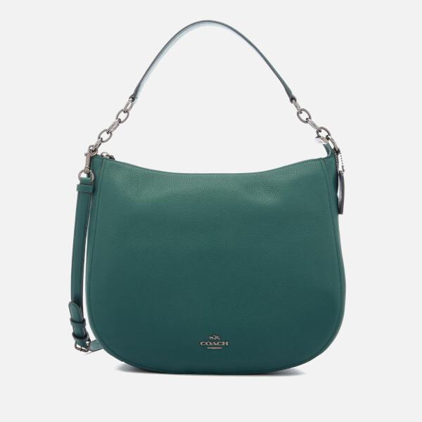 265834dca2 Coach Women s Chelsea 32 Hobo Bag - Dark Turquoise  Image 1