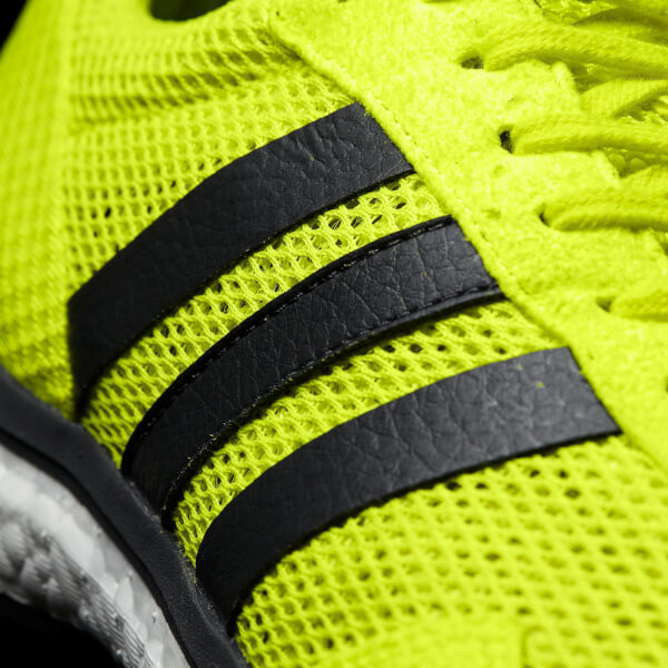 wholesale dealer 02163 1e3f4 adidas Men s adizero Adios Running Shoes - Yellow  Image 3