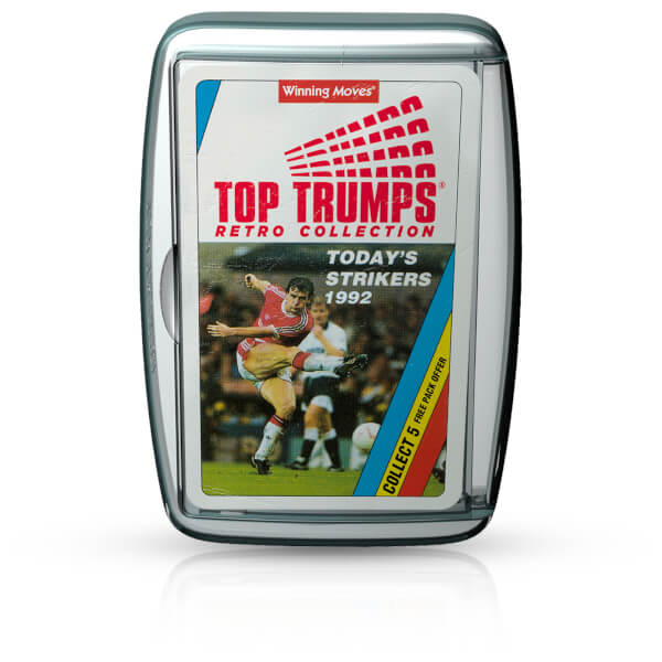 Retro Top Trumps - Today's Strikers