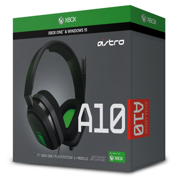 ASTRO Gaming A10 Headset (Xbox One/PS4/PC)