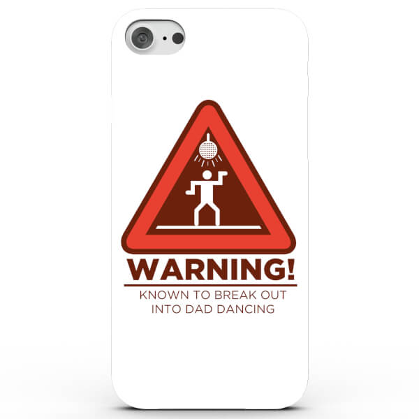 Warning! Dad Dance Phone Case for iPhone & Android - 4 Colours