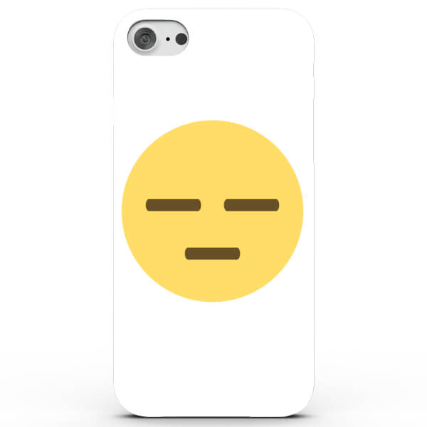 Emoji Meh Phone Case for iPhone & Android - 4 Colours