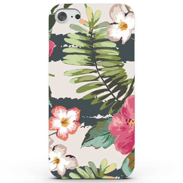 Tropical Colourful Flowers Phone Case for iPhone & Android