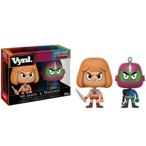 He-Man and Trapjaw Vynl.