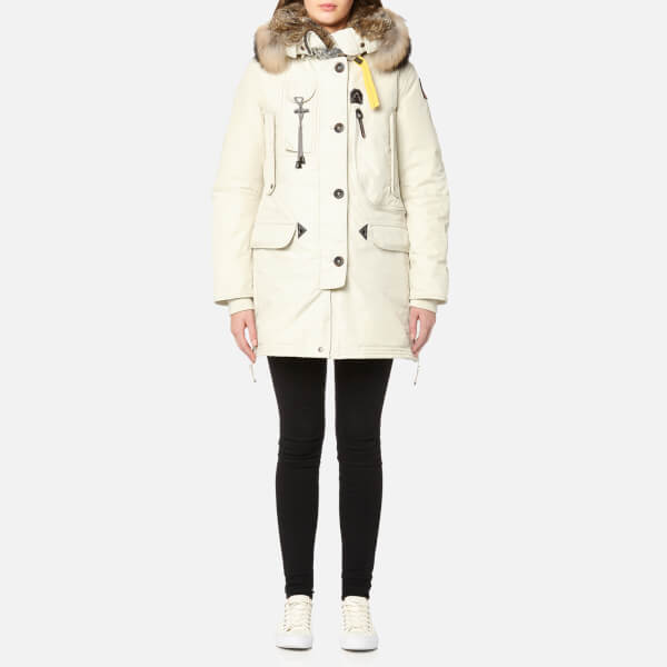 Parajumpers Women's Kodiak Masterpiece Coat - Chalk: Image 1