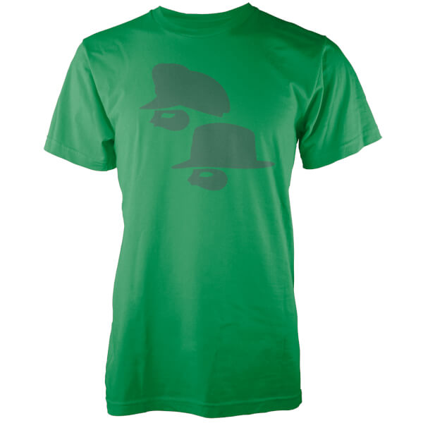 Highway Robbery Men's Green T-Shirt