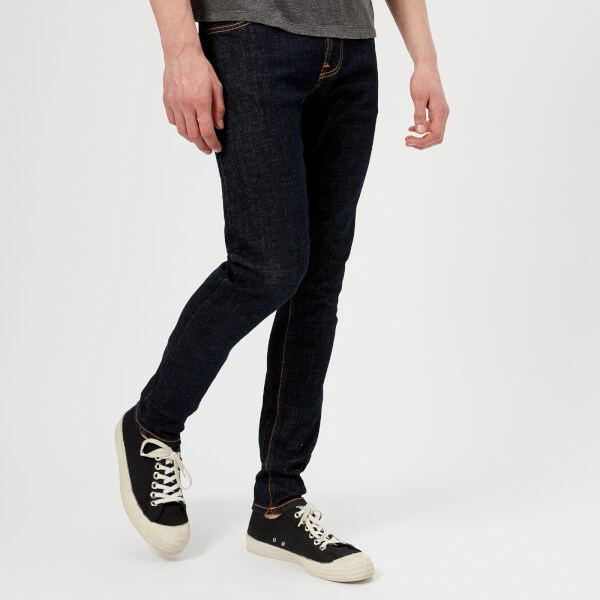 Nudie Jeans Tight Terry Jeans - Rinse Twill: Image 1