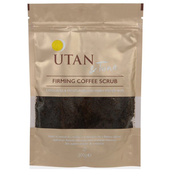 UTAN and Tone Coffee Scrub 200g
