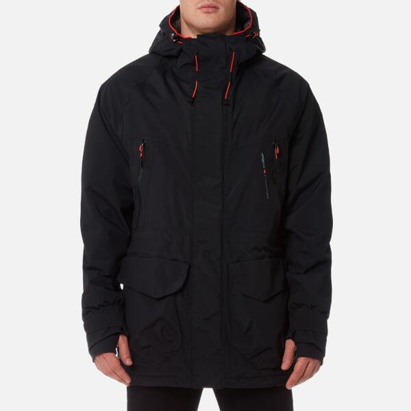 30132ac641f MUSTO Men s Biome BR1 Jacket - Black Fire Orange Clothing