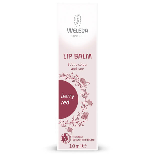 Weleda Berry Red Tinted Lip Balm 10ml