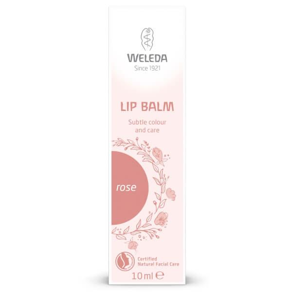 Weleda Rose Tinted Lip Balm 10ml