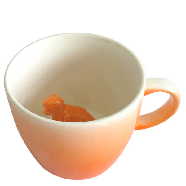 Dinosaur Mug - Orange