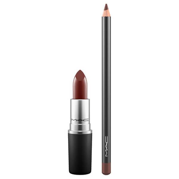 MAC Lip Duo - Antique Velvet/Chestnut
