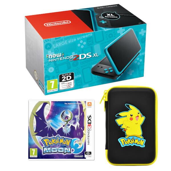 New Nintendo 2DS XL Pokémon Moon Pack