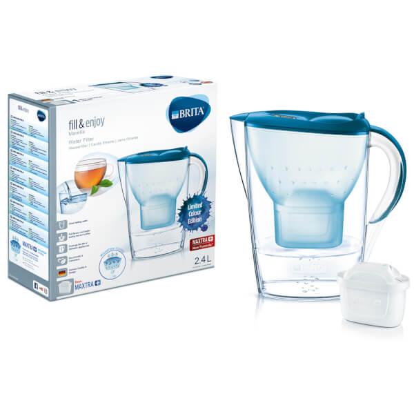 BRITA Maxtra+ Marella Cool Water Filter Jug (Limited Edition) - Blue