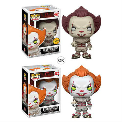 It Pennywise With Boat Pop Vinyl Figure With Chase Pop