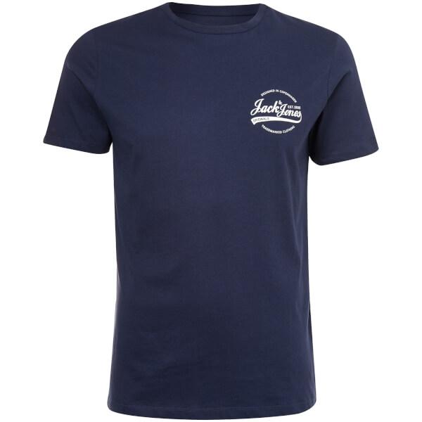 Jack & Jones Men's Originals Raf Small Logo T-Shirt - Total Eclipse