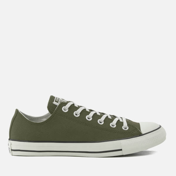 0565c8d82c33 Converse Men s Chuck Taylor All Star Ox Trainers - Medium Olive Black Egret