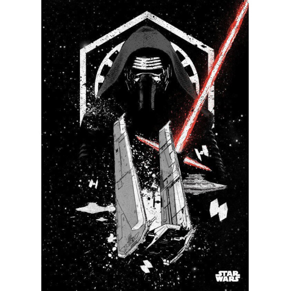 Star Wars Metal Poster - Star Wars Pilots Kylo Ren (68 x 48cm)