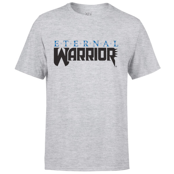 Valiant Comics Classic Eternal Warrior Logo T-Shirt - Grey
