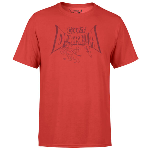 Count Duckula Chase Logo Red T-Shirt