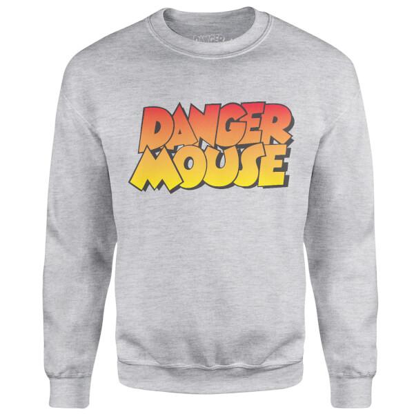 Danger Mouse Four Colour Logo Sweatshirt - Grey