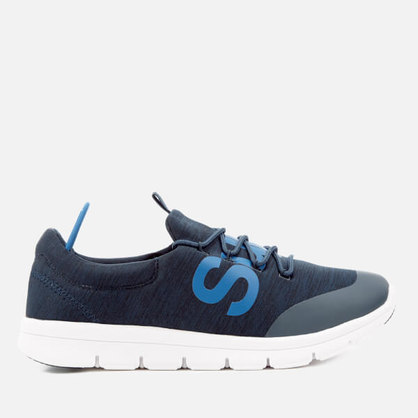Superdry Men's Scuba Storm Runner Trainers - Dark Navy Grit/Optic