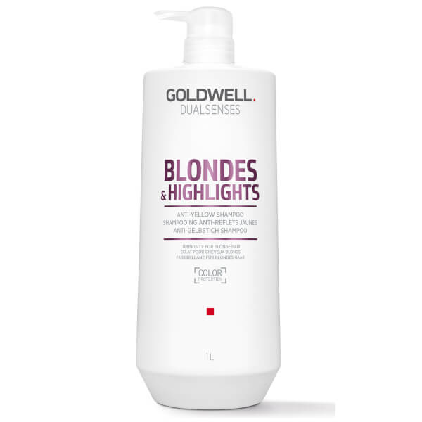 Goldwell Dualsenses Blonde and Highlights Anti-Yellow Shampoo 1000ml