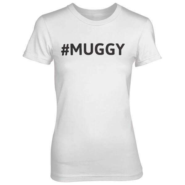 Hashtag Muggy White T-Shirt