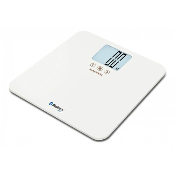 Salter Mibody Bluetooth Max Digital Bathroom Scale White Image 1