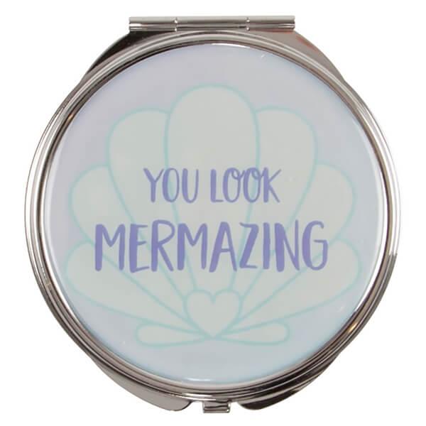 Sass & Belle Mermaid Treasures Pocket Mirror