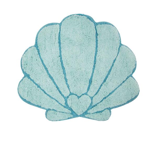 Sass & Belle Mermaid Treasures Shell Bath Mat