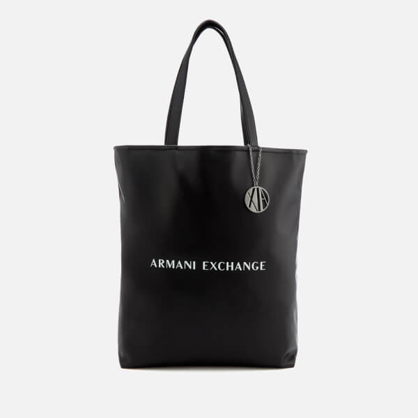 Armani Exchange Women's Reversible Shopping Bag - Black/White