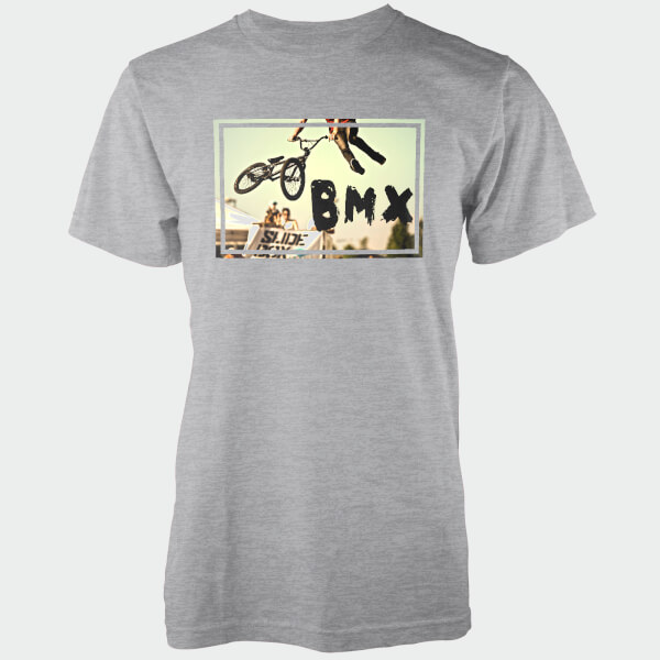 BMX Whip Grey T-Shirt