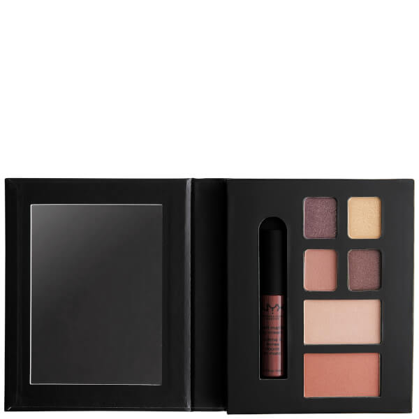 NYX Professional Makeup Wanderlust Lip, Eye & Face Palette - Rome