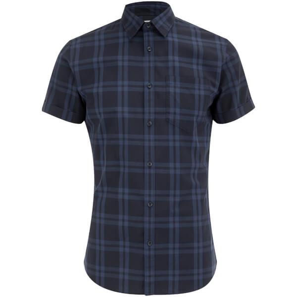 Jack & Jones Originals Fischer Short Sleeve Shirt - Blue Depths