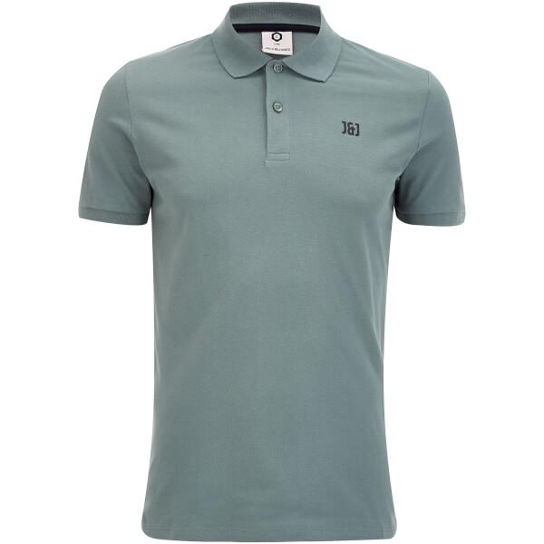 Jack & Jones Men's Core Booster Polo Shirt - Goblin Blue