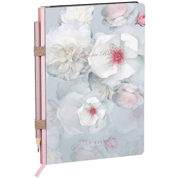 Ted Baker A5 Chelsea Border Notebook with Pencil