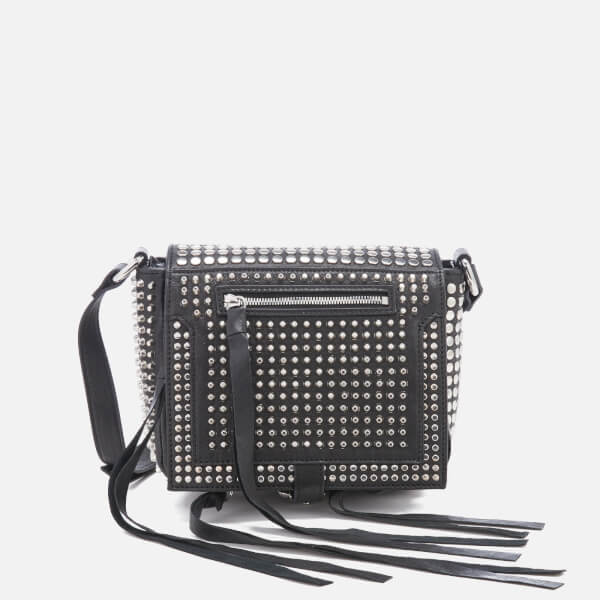 Mcq Alexander Mcqueen Women S Studded Mini Cross Body Bag Black Image 1
