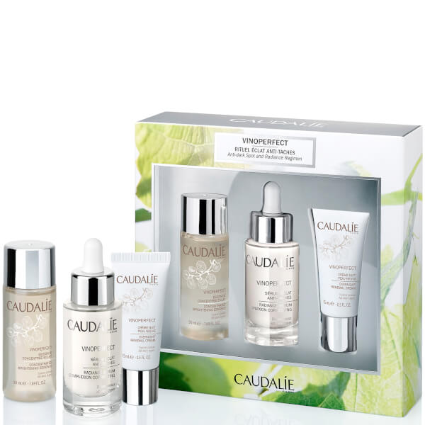 caudalie vinoperfect anti dark spot and radiance set worth free shipping lookfantastic. Black Bedroom Furniture Sets. Home Design Ideas