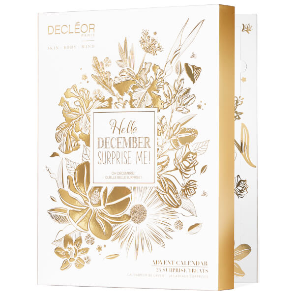 DECLÉOR Hello December, Surprise Me! Advent Calendar Gift Set Worth (£233.50)