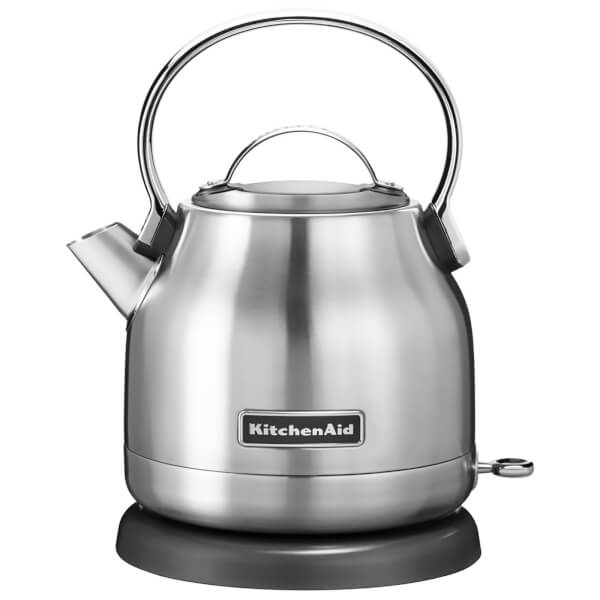 KitchenAid 5KEK1222BSX 1.25L Traditional Dome Kettle - Stainless Steel