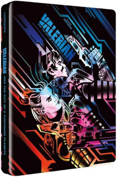 Valerian and the City of A Thousand Planets 3D (Includes 2D Version) (UV Copy) - Limited Edition Steelbook