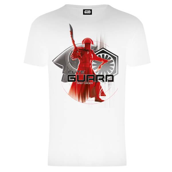 Star Wars Men's The Last Jedi Elite Guard T-Shirt - White