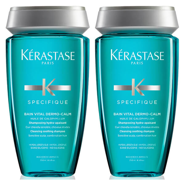 Kérastase Specifique Dermo-Calm Bain Vital Shampoo 250ml Duo