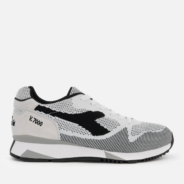 Diadora Women's V7000 Weave Trainers - Black