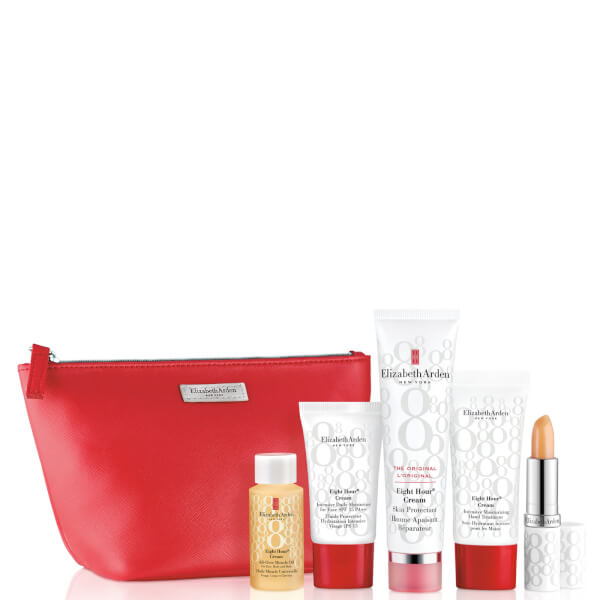 Elizabeth Arden Eight Hour Cream 5 Piece Beauty Set (Worth £76.00)